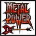 Goth 'N' Metal - Metal Power Logo