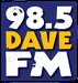 98.5 Dave FM - KHGC Logo