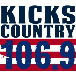106.9 Kicks Country - WKXD-FM