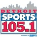 Detroit Sports 105.1 - WMGC-FM Logo