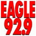 92.9 The Eagle - KTGL Logo