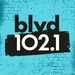 blvd 102.1 - CFEL-FM Logo