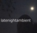 late night ambient Logo