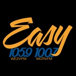 Easy 105.9 - WEZV Logo