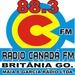 Rádio Canadá FM - Canadá Britânia Logo
