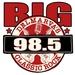 Big 98.5 - WGBG-FM Logo
