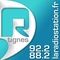 R' Tignes, La Radiostation Logo