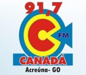 Radio Canada FM - Canadá Acreúna