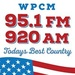 95.1 FM & 920 AM WPCM, The Sound of Alamance County - WPCM Logo