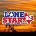 LoneStar 92 - KNFM Logo
