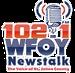 Newstalk 102.1 FM - WFOY Logo
