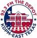 92.3 FM The Depot - KDPM Logo