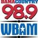 Bama Country 98.9 - WBAM-FM Logo