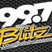 99.7 The Blitz - WRKZ Logo