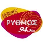 Rythmos 94.3 FM Logo