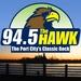 94.5 The Hawk - WKXS-FM Logo