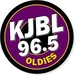 Oldies 96.5 - KJBL Logo