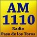 AM 1110 - Radio Paso de los Toros Logo