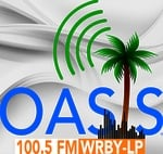 Oasis Radio WRBY-LP 100.5FM live Logo
