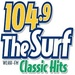 104.9 The Surf - WLHH Logo