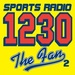 ESPN Radio 1230 The Fan 2 - WFOM Logo