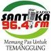 96,4 Santika FM Logo