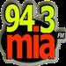 Mia 94.3 FM - WZKB Logo