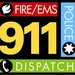 Ellis County Fire Dispatch Logo