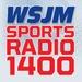 Sports Radio 1400 - WSJM Logo