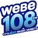 WEBE 108 - WEBE Logo