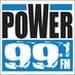 Power 99.1 - KUJ-FM Logo