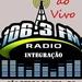 Rádio Integrção FM - 106.3 FM Logo