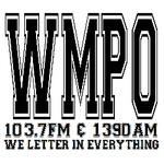 ESPN 1390 & 103.7 FM The Point - WMPO Logo