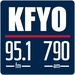 News/Talk 95.1 & 790 - KFYO Logo