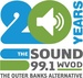 99.1 The Sound - WVOD Logo