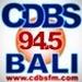 CDBS 94.5 Bali Logo