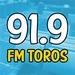 91.9 FM Toros Logo
