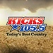 Kicks 101.5 - WKHX-FM Logo