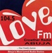 104.5 love FM Abuja Logo