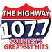 107.7 The Highway - WMPX Logo