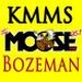The Moose - KMMS-FM Logo