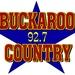 92-7 Buckaroo Country - KWNA-FM Logo