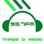 Three D Radio Logo