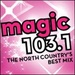 Magic 103.1 - W261CP Logo