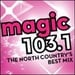 Magic 103.1 - WTOJ Logo