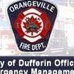 Orangeville, ON, Canada Fire