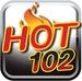 Hot 102 - WCMN-FM Logo