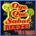 Oye que sabor radio Logo