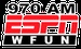 ESPN 970 AM - WFUN Logo