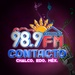Contacto 98.9 FM - XHCHAL Logo